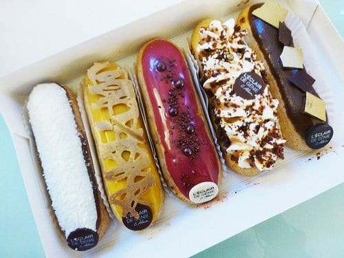 The Taste of a Wonderful Eclair is one of Worlds Most Delicious Desserts