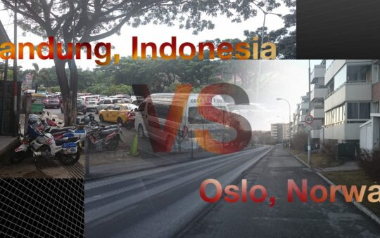 Indonesian Days: Bandung VS Oslo in Traffic Jams!