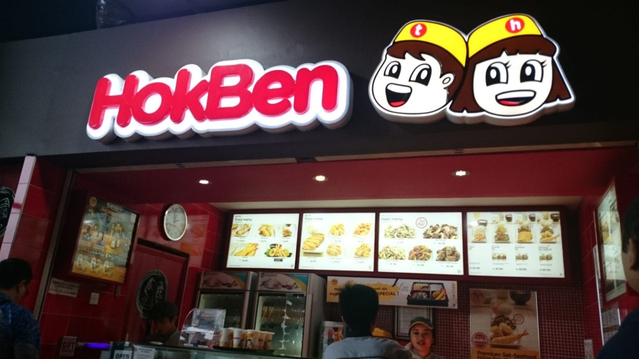 HokBen with Remarkable Fast Food in Bandung