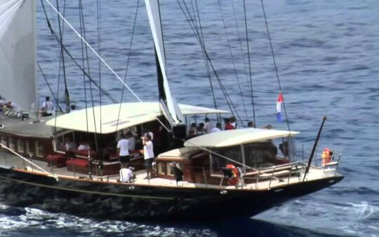 Going green with a saling charter yacht