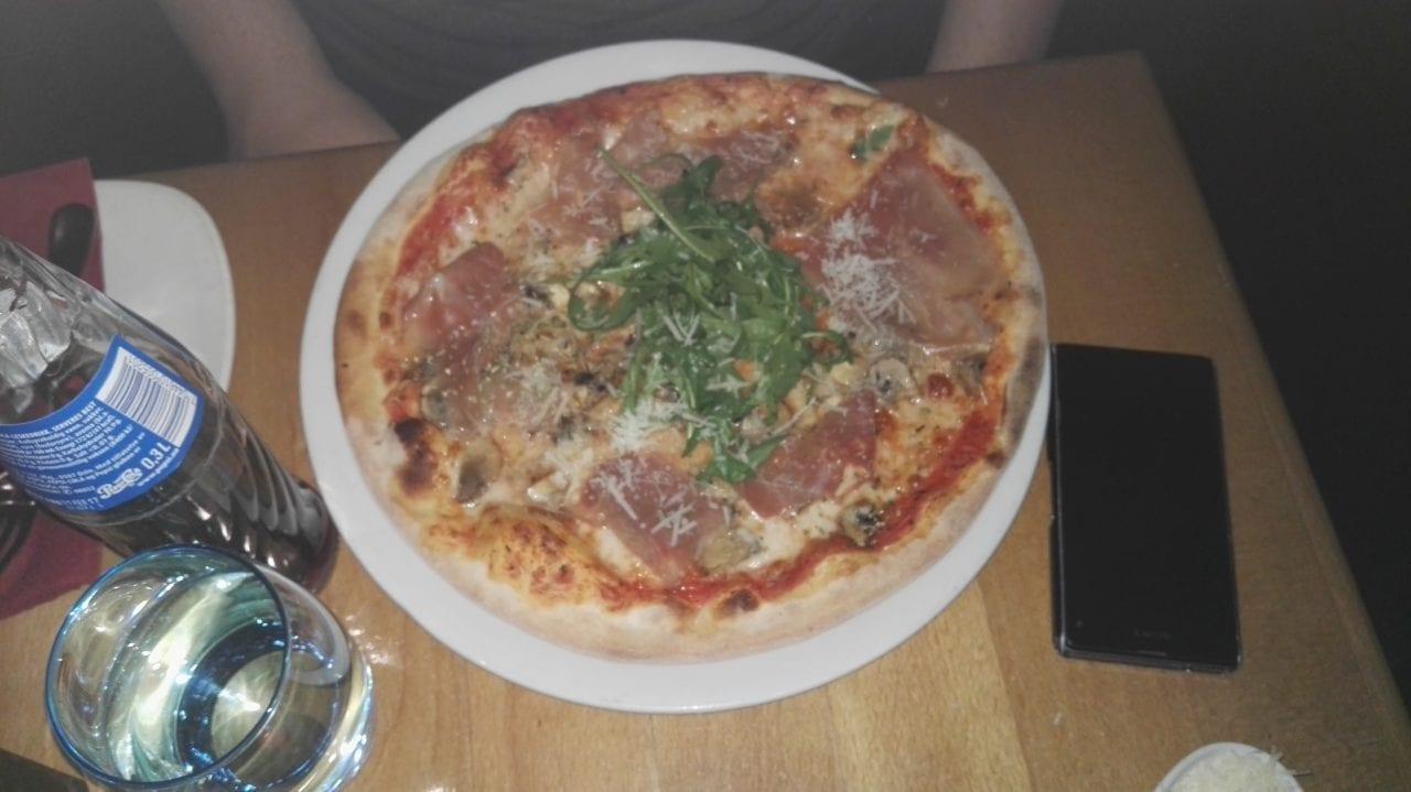 Pizza de mangiamo Oslo