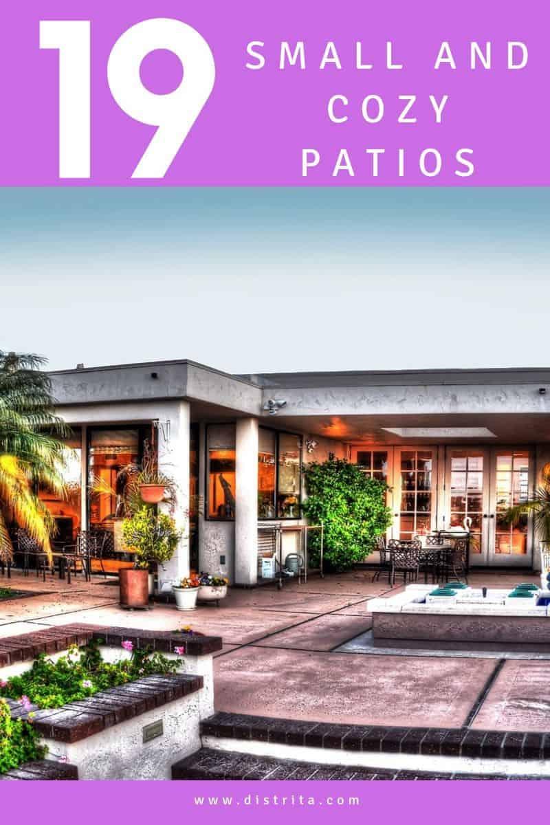 small patio backyard ideas