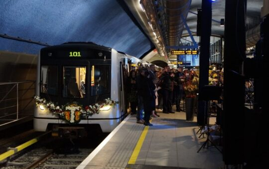 Fine for riding light rail Tram and Metro without ticket in Oslo, Norway