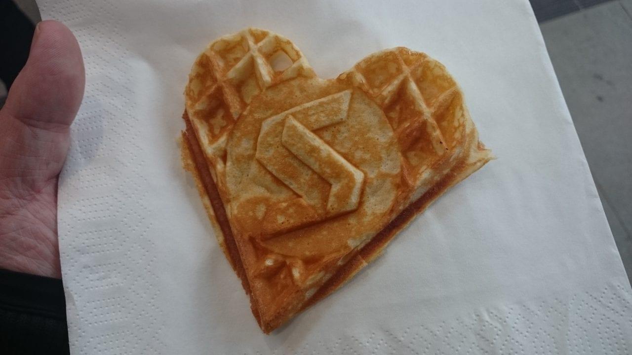 Oslo Metro waffle