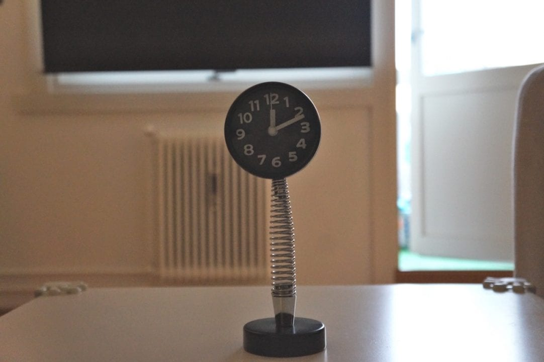 Funny clock from Indonesia