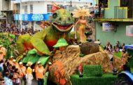 Multicolor parade in tabasco