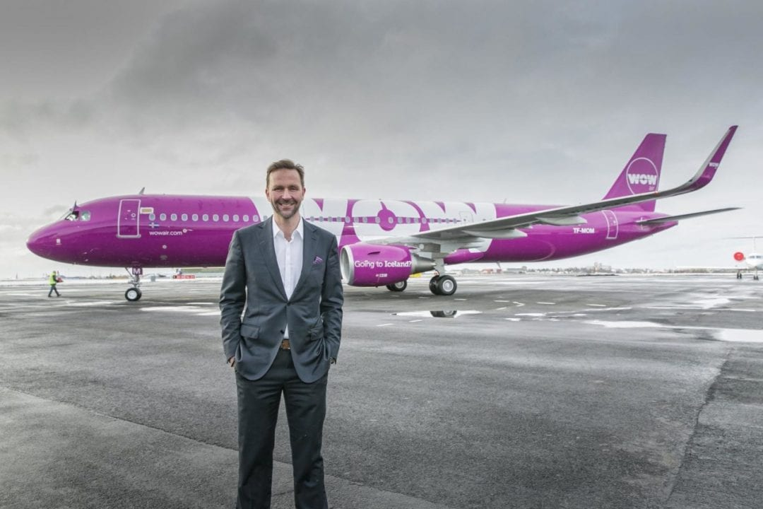 WOW Air is a charming airline company with stunning design
