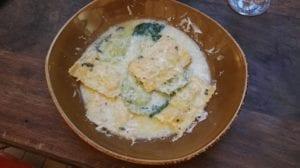 Pasta at Cantina Cortina