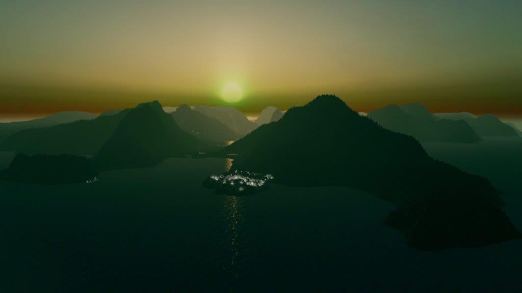 Amazing sunlight picture