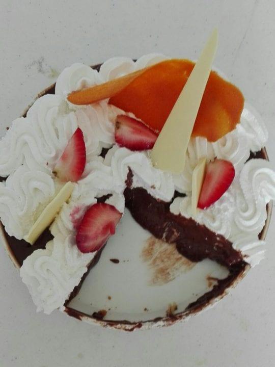 Strawberry Tart with Chocolate Recipe