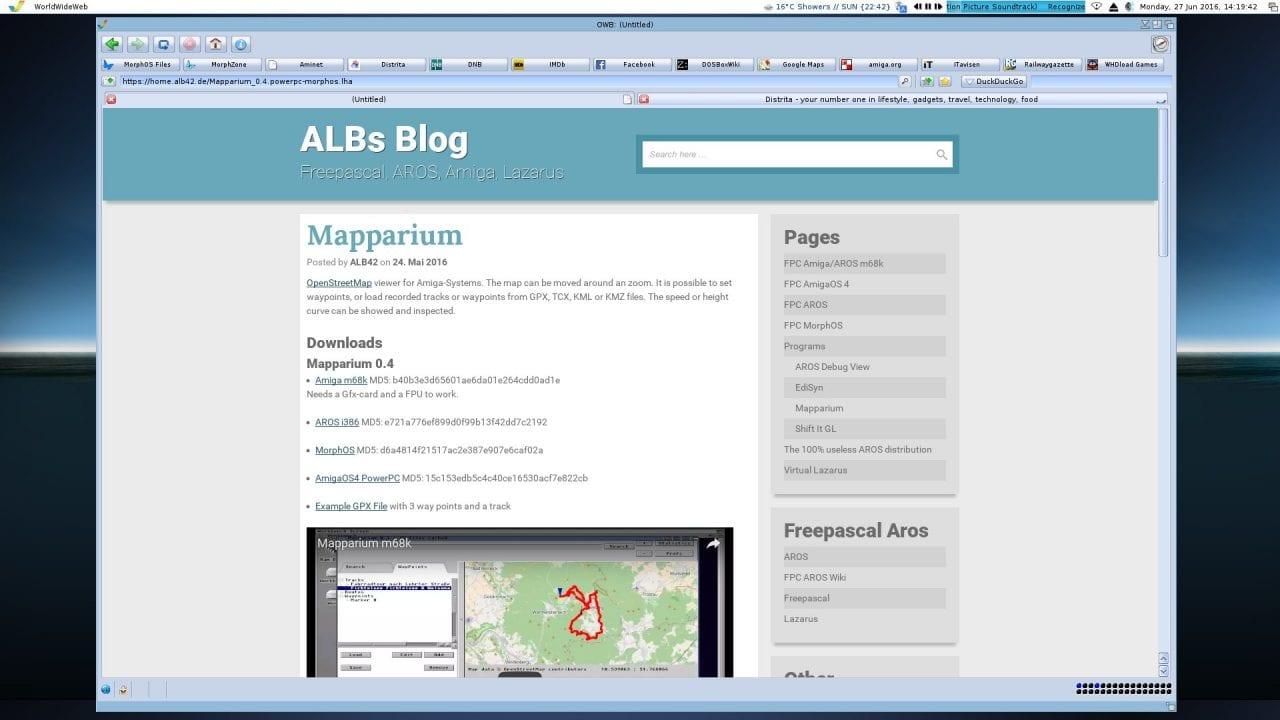 Mapparium 0.4 Website