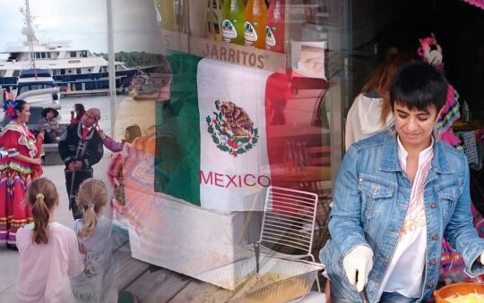 Mexican Taco Fiesta festival in Oslo in Pictures