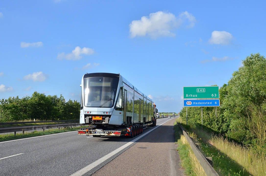 Aarhus Light Rail Public Transport Network