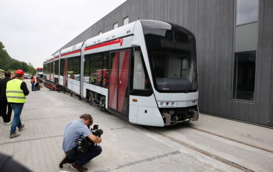Aarhus Light Rail Public Transport Network is getting Ready for the arrival of their Trams