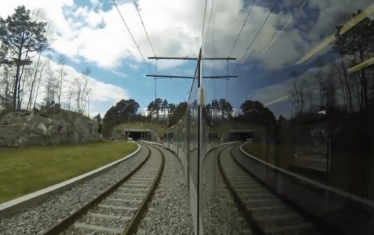 Bergen Light Rail is Finally Extended by 4.8km to Birkelandsskiftet Today