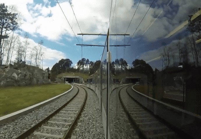 Bergen Light Rail is Finally Extended