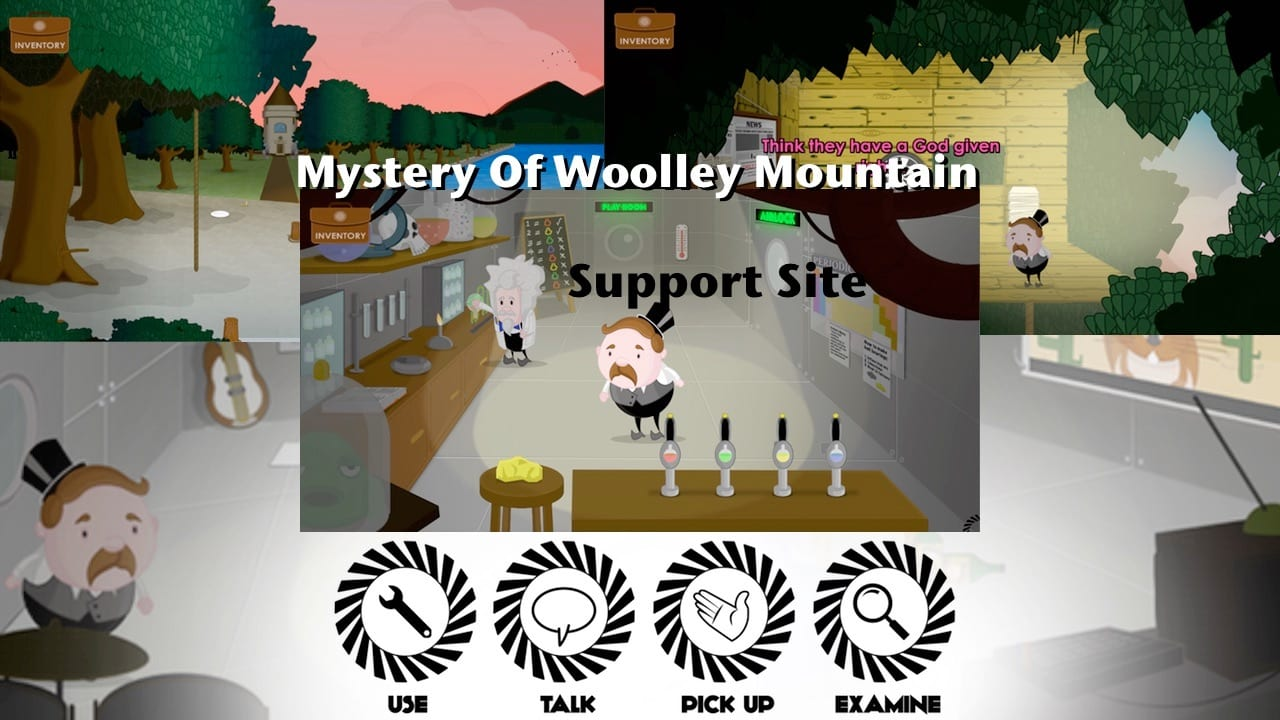 Mystery Of Woolley Mountain