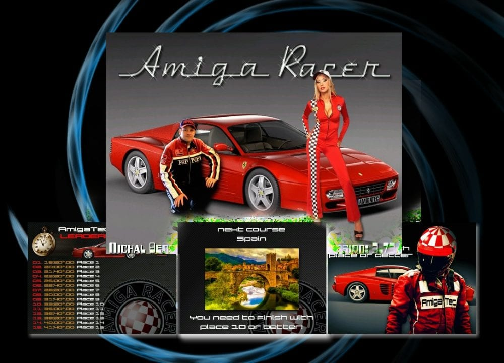 Amiga Racer Update