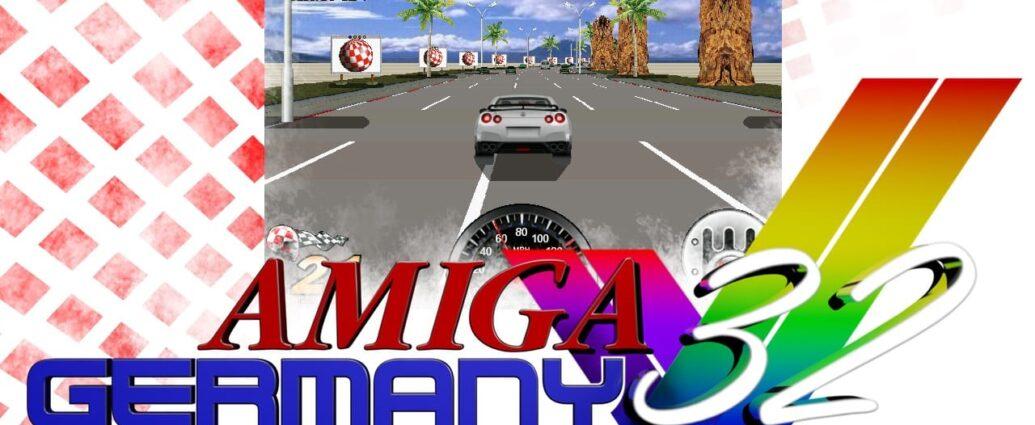 Amiga Racer supporting Amiga 32