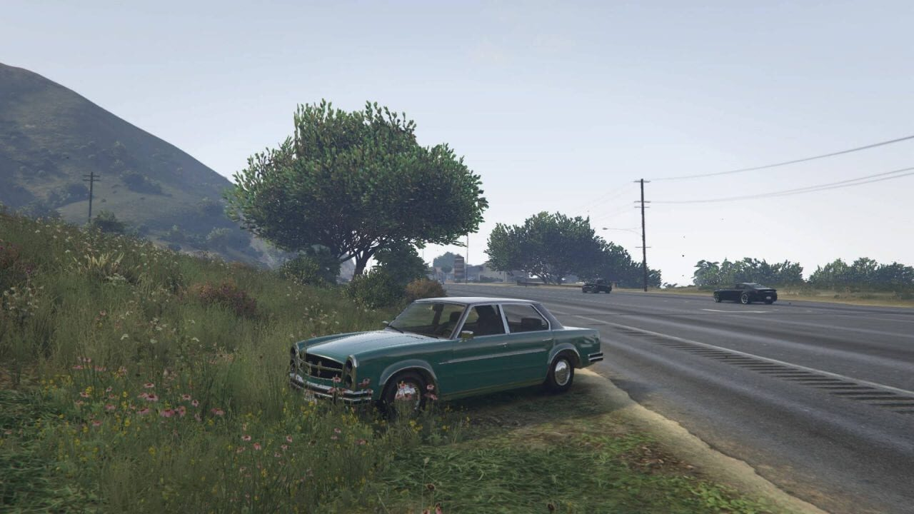 Grand Theft Auto V game character will Stay