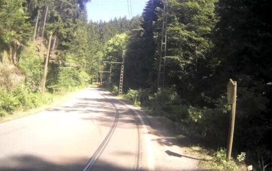 Kirnitzschtalbahn takes you from Bad Schandau to Lichtenhain Waterfall