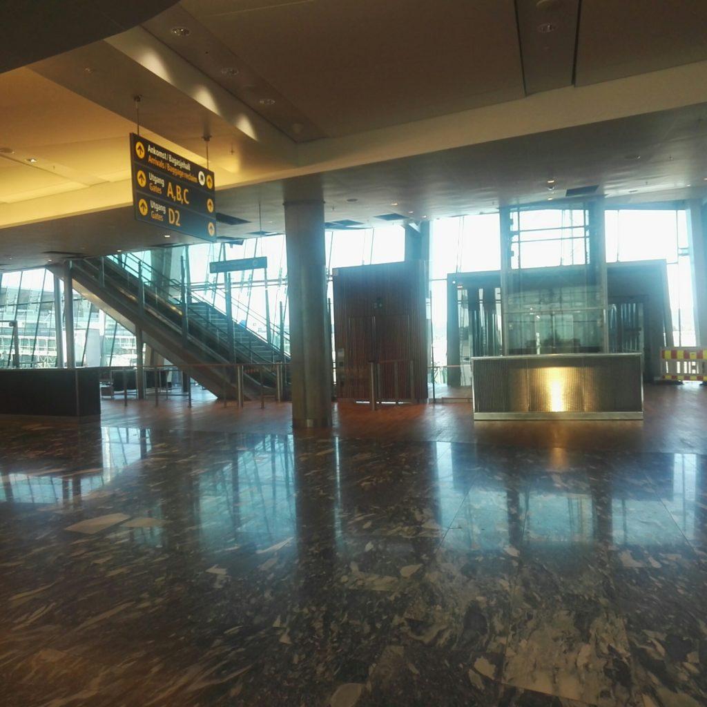 Oslo Gardermoen New Terminal