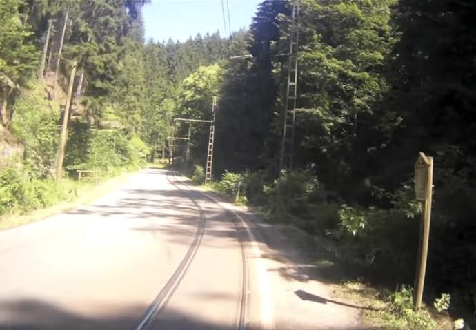 old tramline