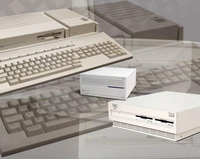 Amiga 3000, Atari TT030 and Macintosh IIci 030 68030