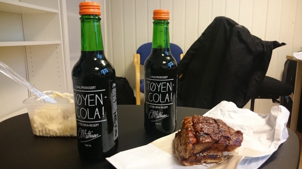 Tøyen Cola is a local Speciality in Oslo