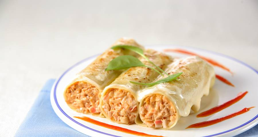 Cold Tuna Cannelloni Recipe