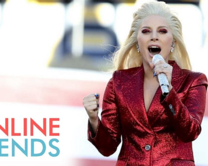 Lady Gaga at Super Bowl