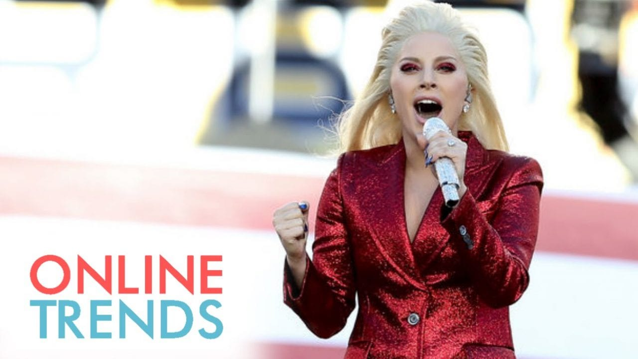 Lady Gaga at Super Bowl