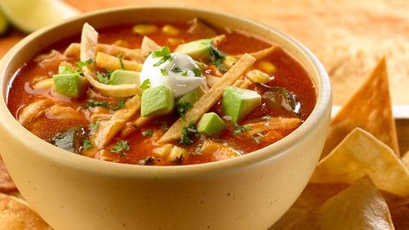 Vegetarian noodle soup 1