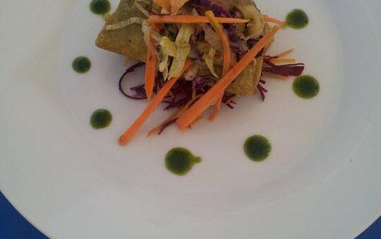 Vegetarian meat toast Recipe
