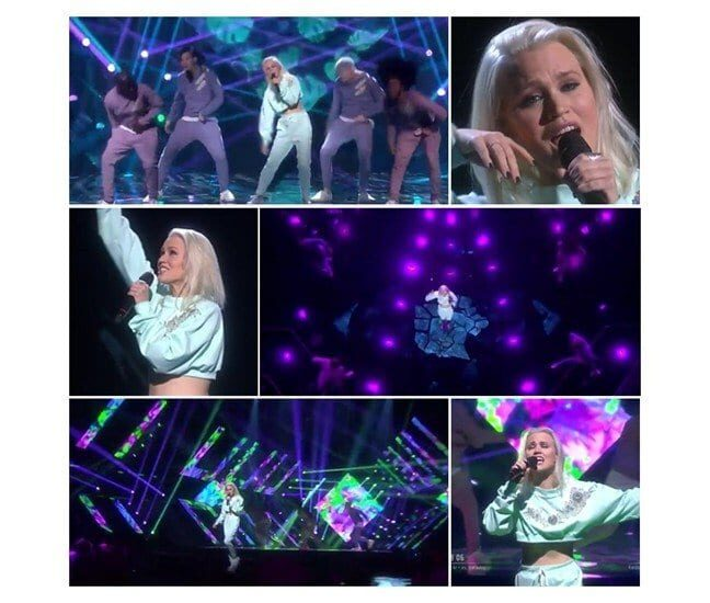 Ace Wilder, Wild Child, Melodifestivalen 2017, Ace Wilder qualified directly to the Swedish final