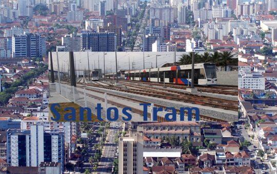 Santos in Brazil got it's Light Rail line completed