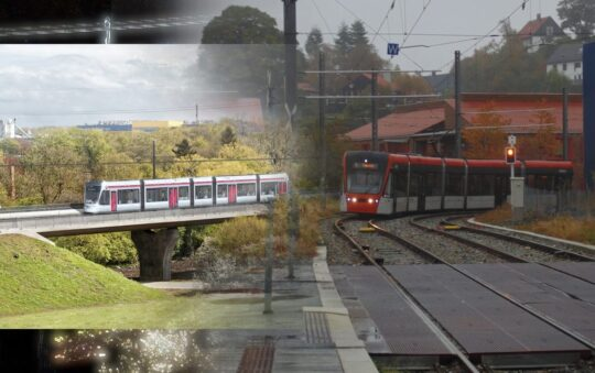Boost of Tram cities and Tram expansions in Scandinavia by year 2021