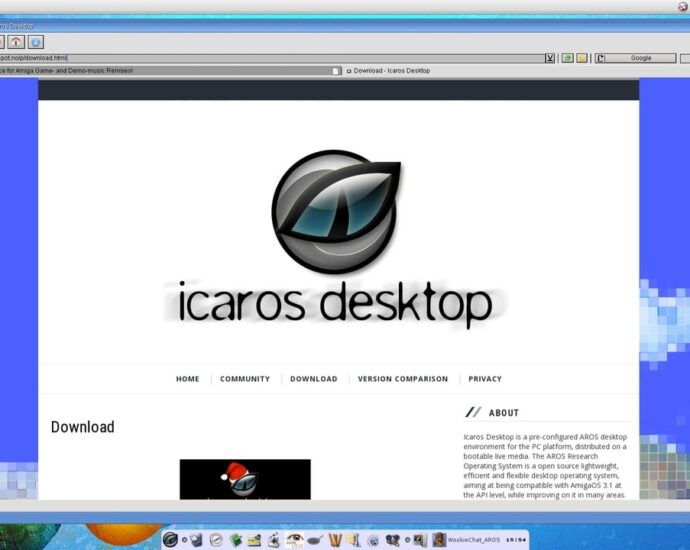 AROS Icaros Introduction
