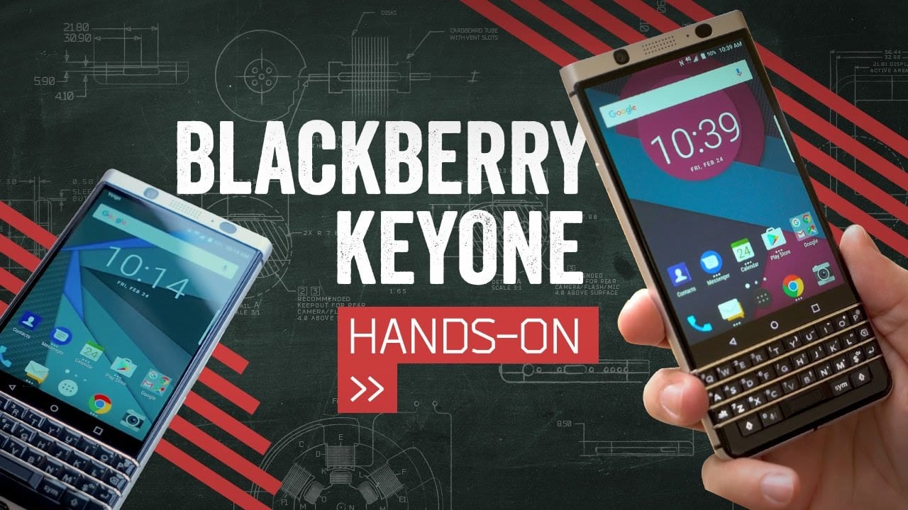 Blackberry Key One Android Nougat