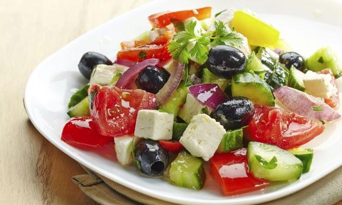 Typical Greek Salad