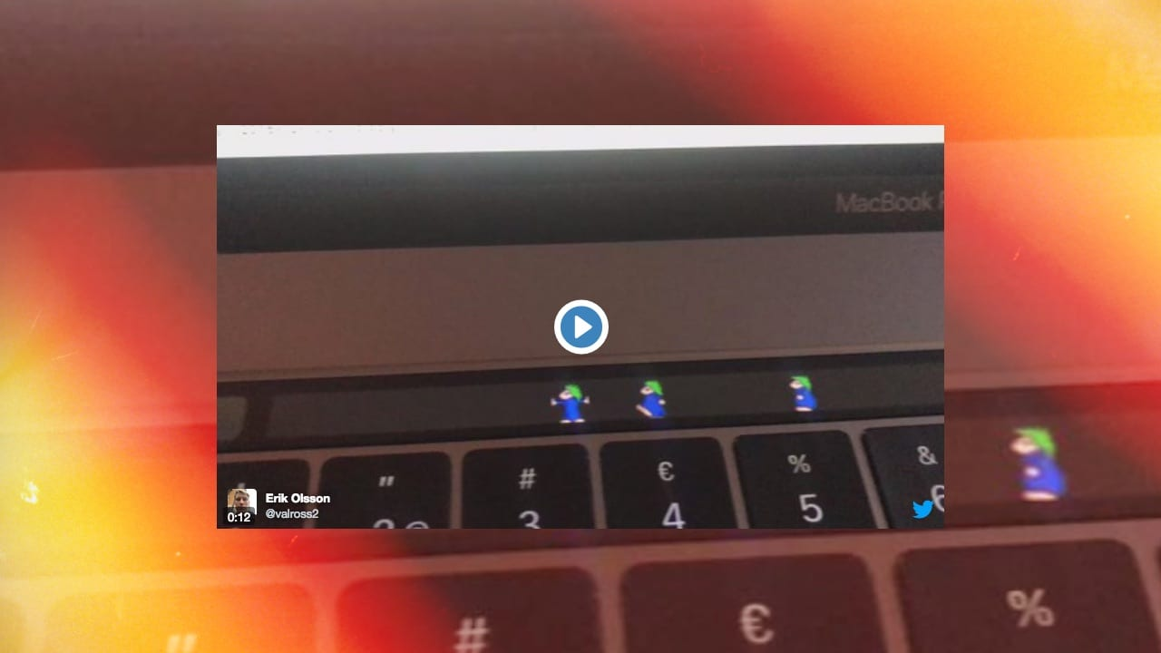 Lemmings Touch Bar