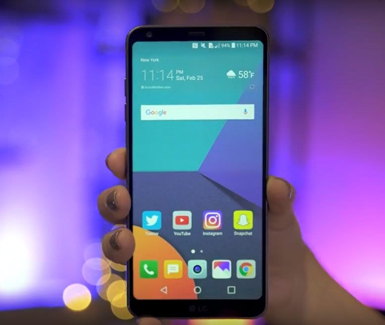 lg g6aLG' new flagship: LG G6 with a super tall screen goes official