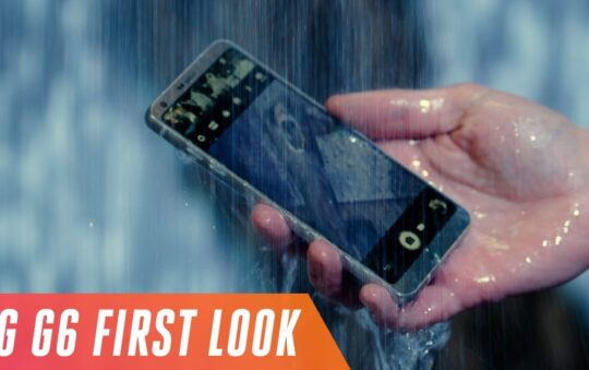 LG' new flagship: LG G6 with a super tall screen goes official