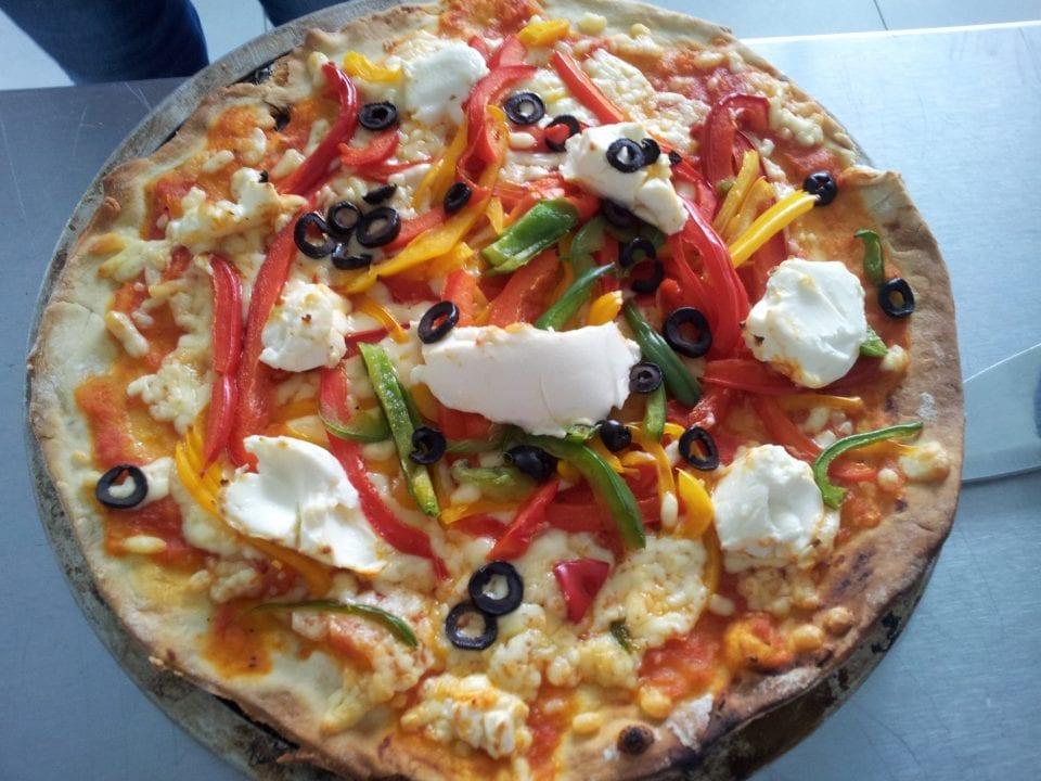 Delicious Vegetarian Pizza Recipe