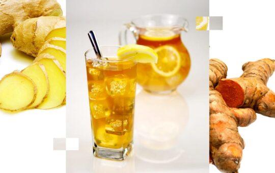 Ginger Lemon Tea with Turmeric recipe