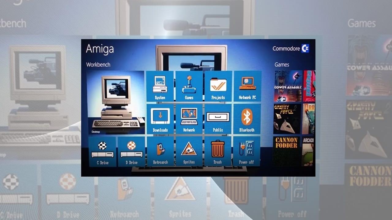 Windows 8 Start Amiga Launcher