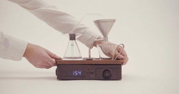 Alarm Clock as coffee machine