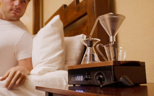 Alarm Clock as coffee machine