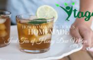 New Homemade Iced Tea Recipe – explore brand new Tea Flavors
