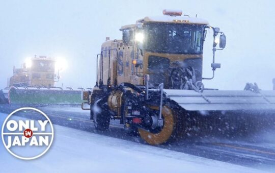 Airport Snow Plowing at Aomori Airport Should be Inspiration Worldwide